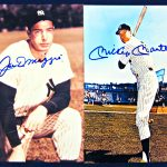 dimaggio-and-mantle-signed-photos