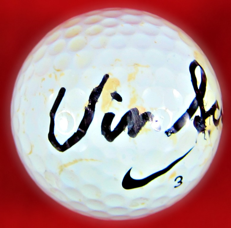 Vin Scully Autographed Golf Ball