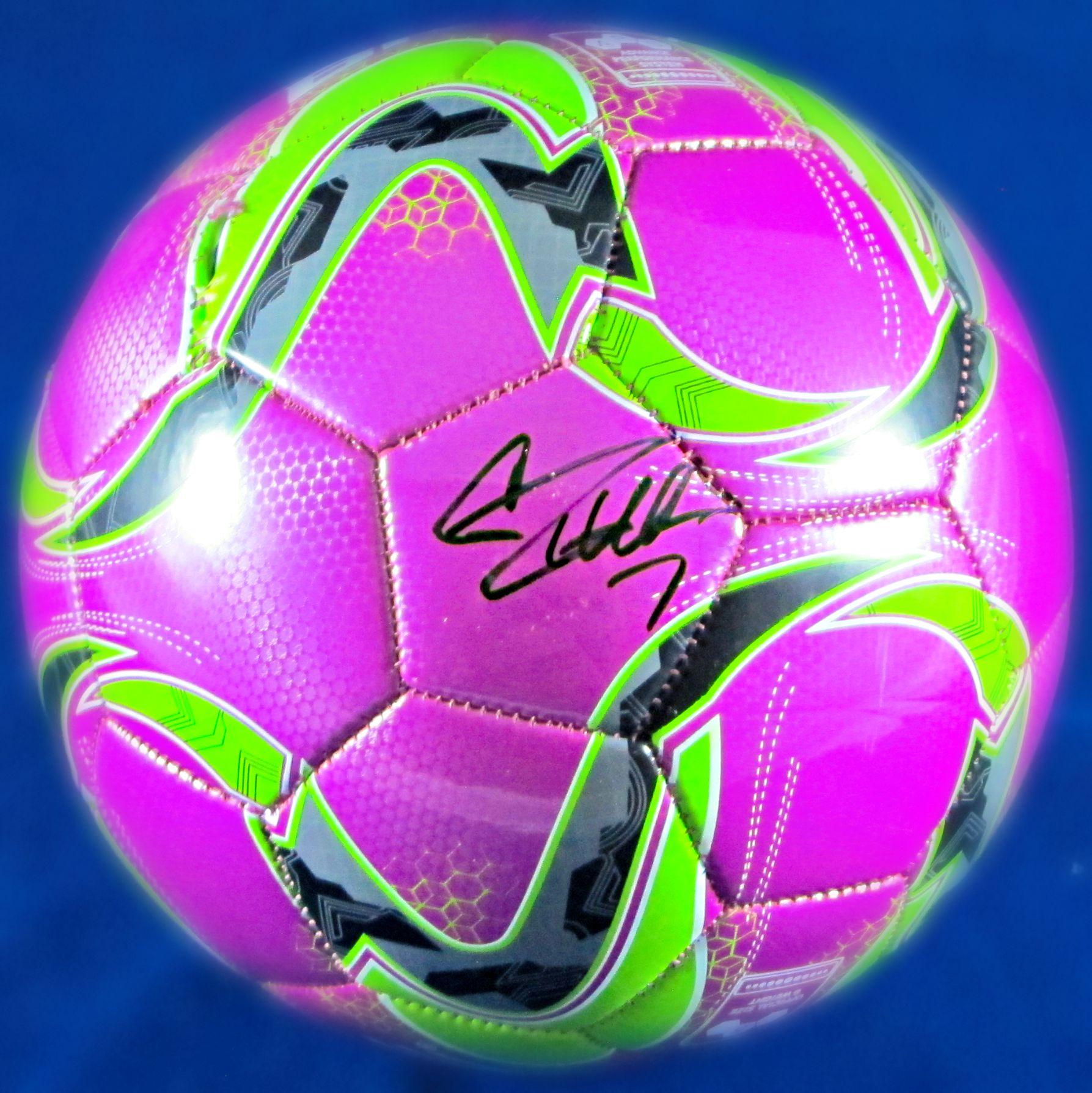 46b1b748164 Cristiano Ronaldo signed soccer ball - Memorabilia Center