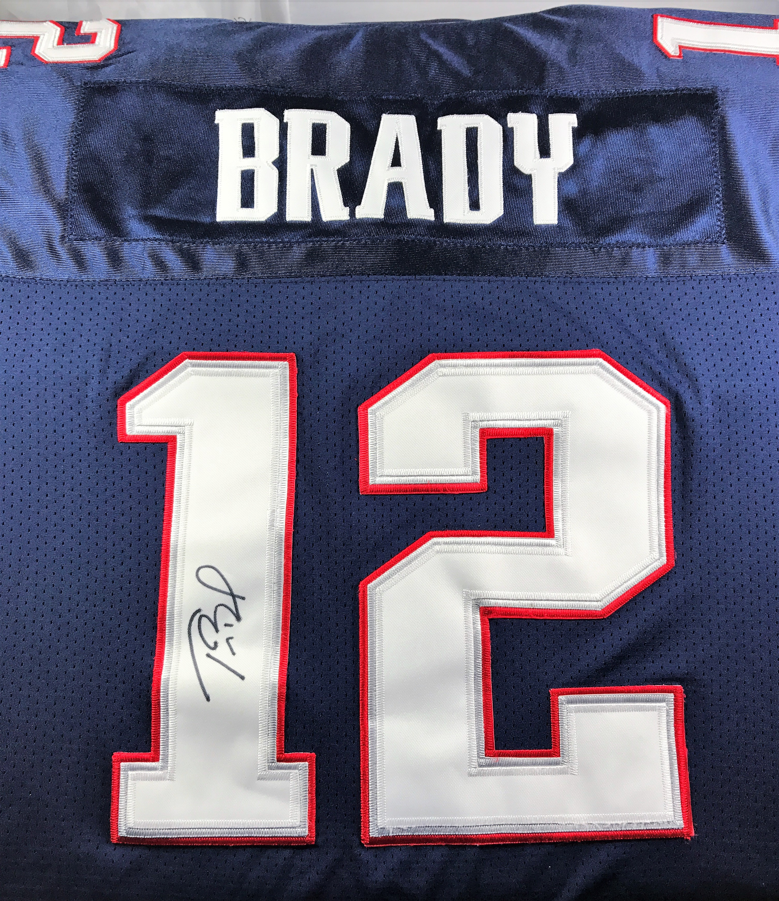 new concept 8239a 87680 Tom Brady Autographed Jersey