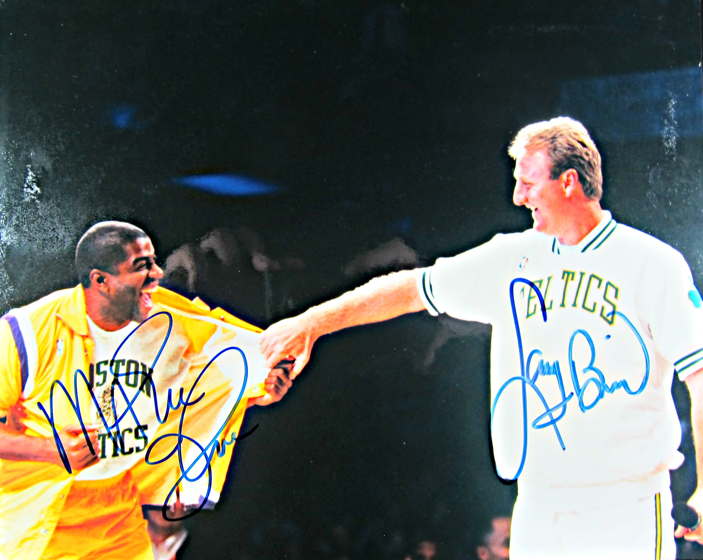 99f3949cd41dad Magic Johnson and Larry Bird signed photo. Sale! 🔍.  199.00  149.00