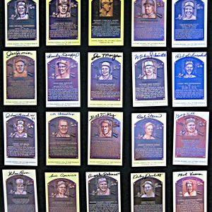 set-of-20-signed-hall-of-fame-plaque-postcards