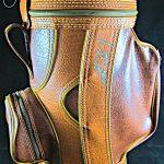 Arnold Palmer and Tom Watson signed mini golf bag
