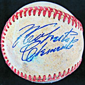 Roberto Clemente Autographed Baseball