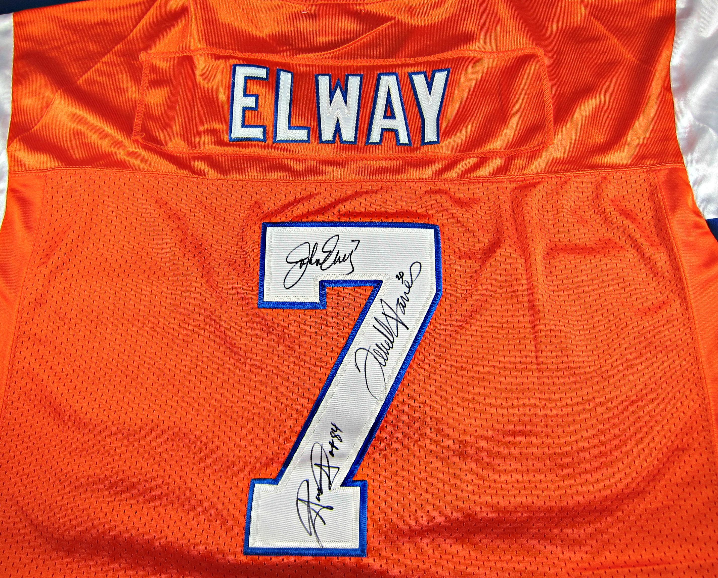 0cb108290 Denver Broncos Autographed John Elway Jersey. Sale! 🔍. Denver Broncos