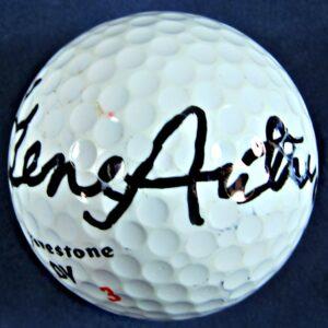 Gene Autry Autographed Golf Ball