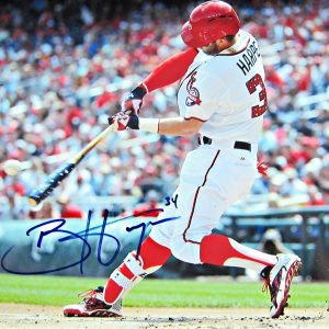 bryce-harper-signed-photo