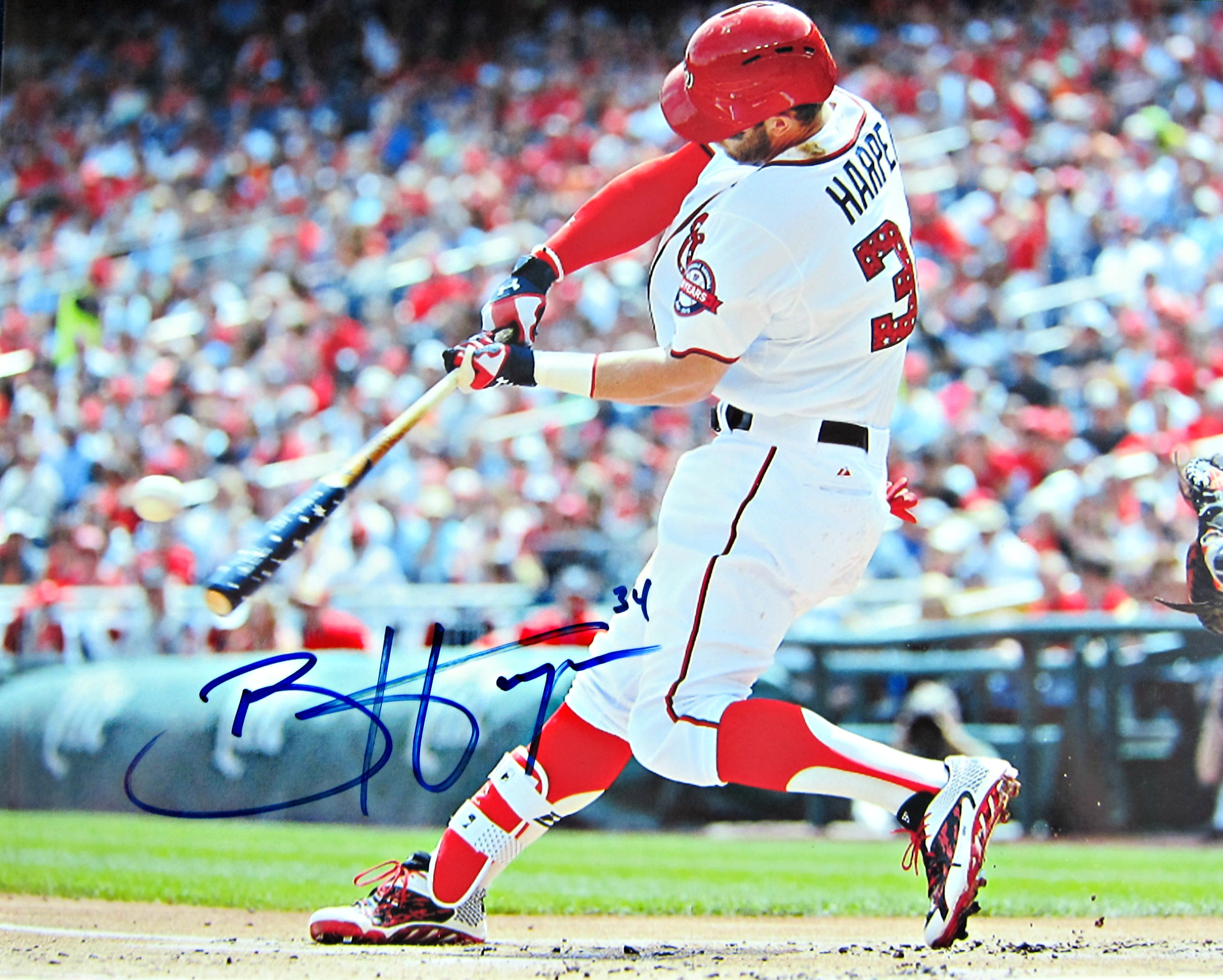 Bryce Harper Autographed Photo - Memorabilia Center 2e6037ec5