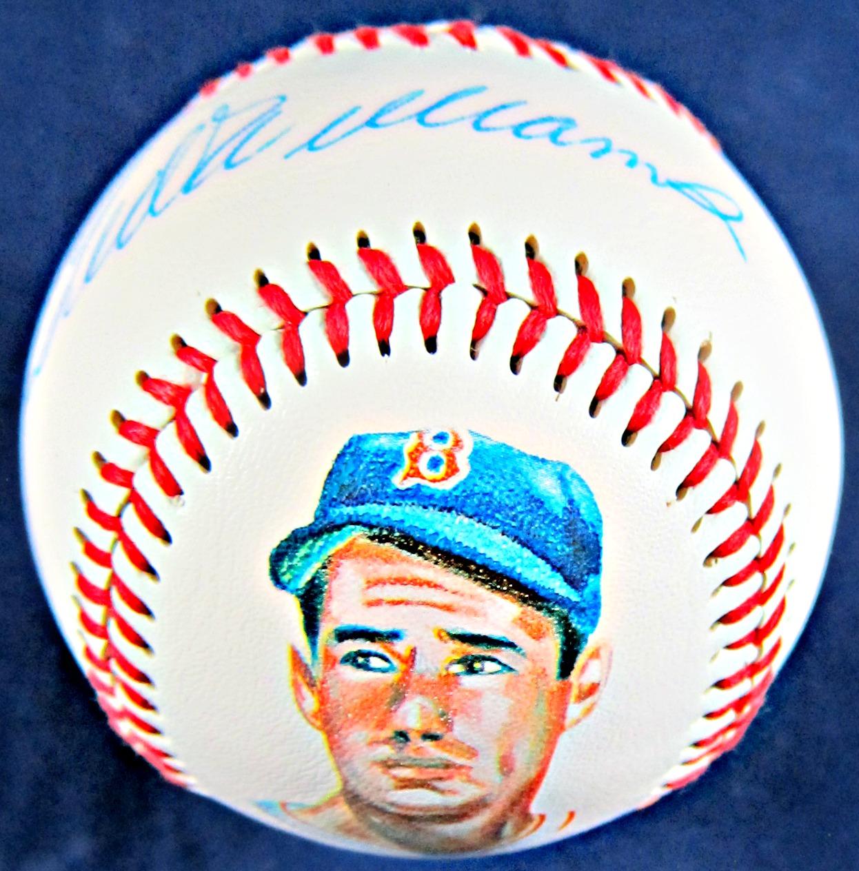 ted-williams-signed-baseball