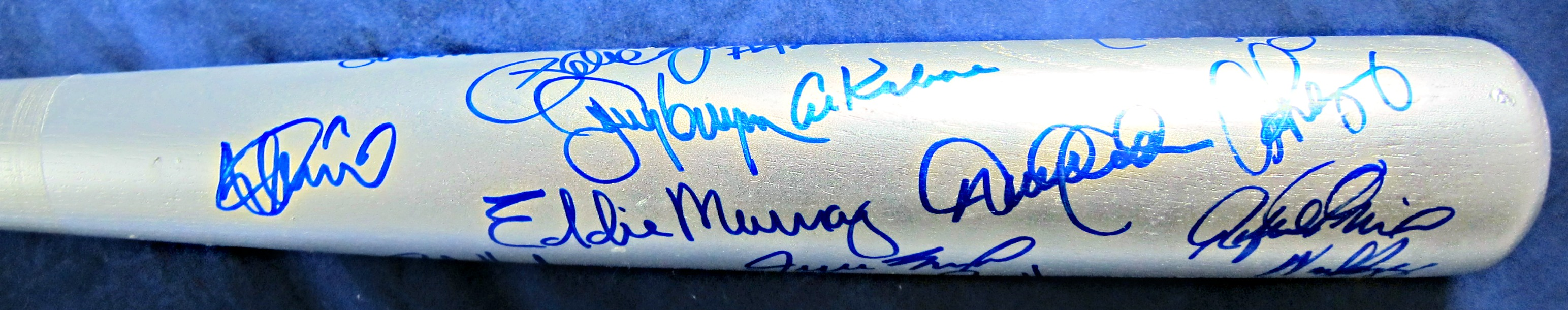 3000 Hit Club Signed Bat