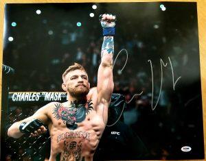 Connor McGregor Autograph PSA