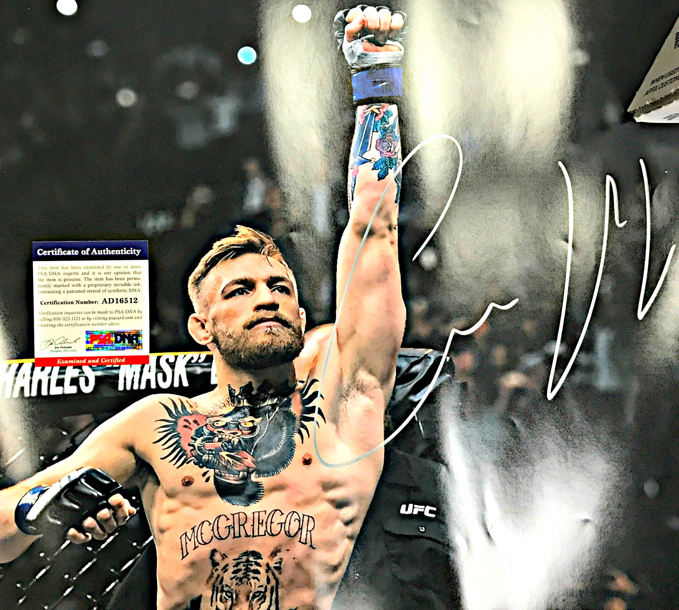 Conor McGregor Autographed Photo
