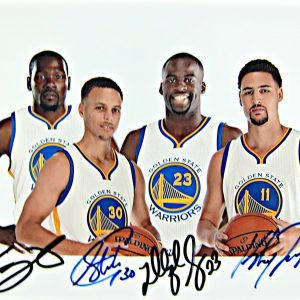 Golden State Warriors Autographed Photo