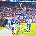 Odell Beckham Jr Autographed Photo