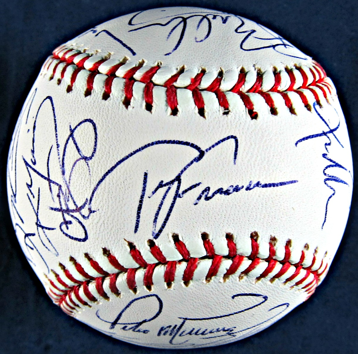 2004 Boston Red Sox Team Signed Official 2004 World Series Baseball