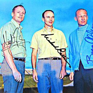 Apollo XI Crew Autographed Photo