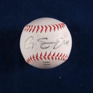 Gary Sanchez Autographed Baseball