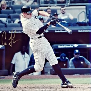 Aaron Judge autographed photo