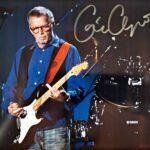 Eric Clapton Autographed 8x10 Photo