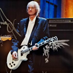Jimmy Page Autographed 8x10 Photo