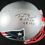 Tom Brady Signed Helmet