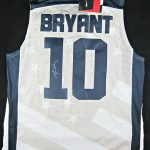 Kobe Bryant Autographed Team USA Jersey
