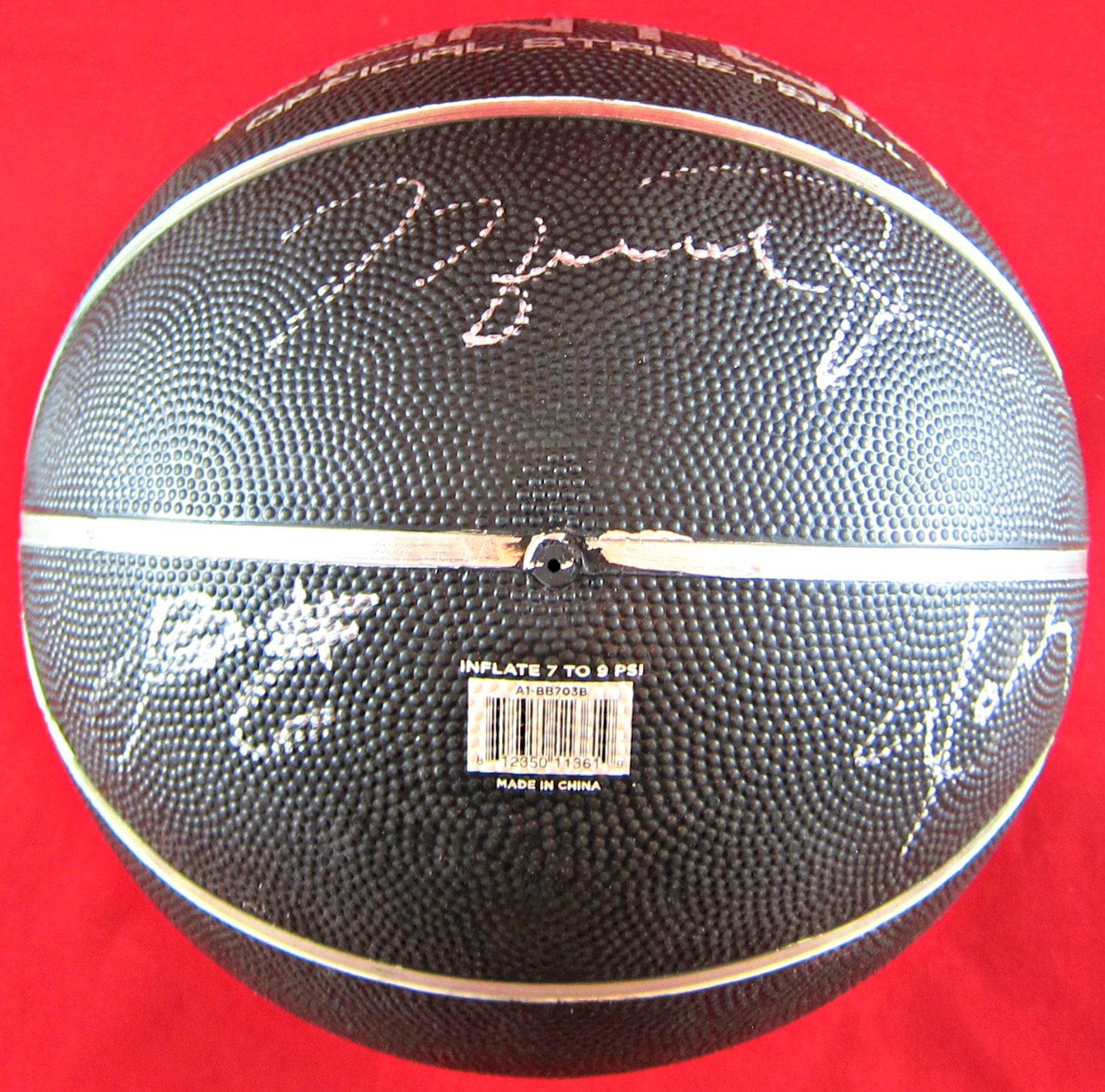 the latest a6474 d6793 Michael Jordan, LeBron James, & Kobe Bryant Autographed Basketball