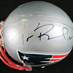 Tom Brady Signed Mini Helmet