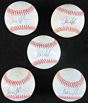 Aaron Judge Autographed Baseballs