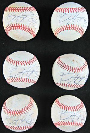 Bryce Harper Autographed Baseball