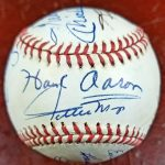 500 Home Run Club Autographed Baseball